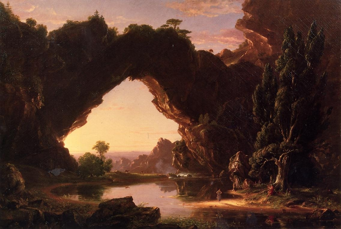 Cole, Thomas (1801-1848) - Soir en Arcadie