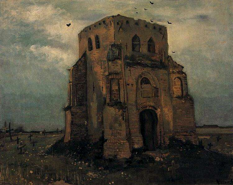 7 cimetière paysan Van Gogh